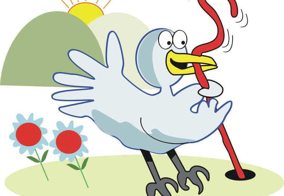 Frühförderung leicht gemacht oder: Der frühe Vogel kann mich mal (gern haben)