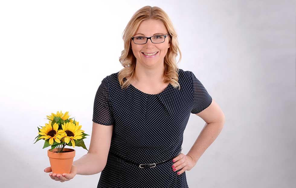 Humorvolle Familienberaterin Christina Zehetner hält Seminare mit Pepp