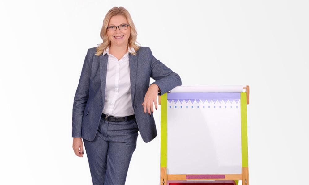Christina Zehetner hält Impulsvorträge mit Humor